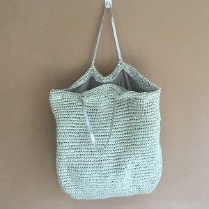 Handbags - Women's Paper Straw Large Satchel